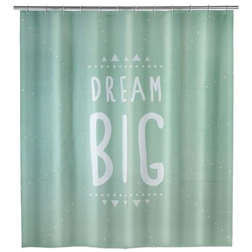 PEVA Shower Curtain Dream Big