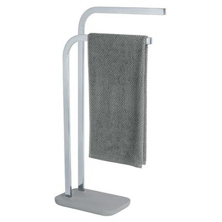 Towel and Clothes Stand Concrete