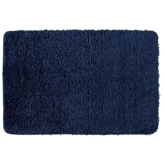 Bath mat Belize marineblue,Micropolyester