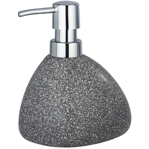 Ceramic Soap Dispenser Mod. Pion, grey
