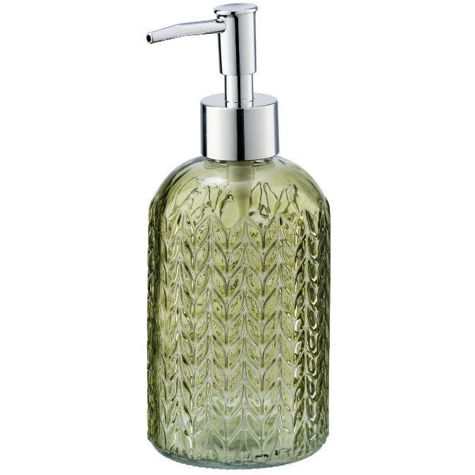 Soap Dispenser Mod. Vetro, round, green