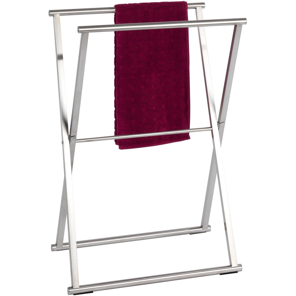 Foldable Towel and Clothes Stand Lava