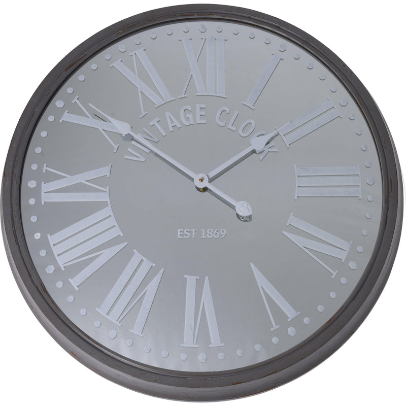 WALL CLOCK MIRROR 680X50MM KOP-367