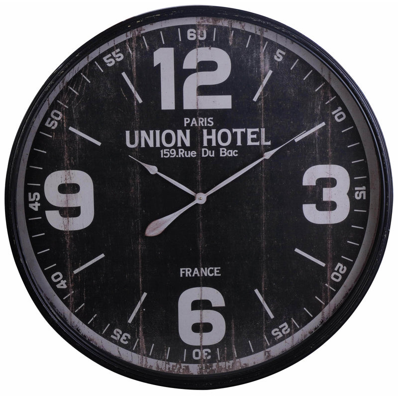 WALL CLOCK 90CM METAL KOP-368