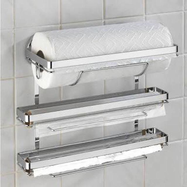 Kitchen Roll Holder Trio Magic Loc