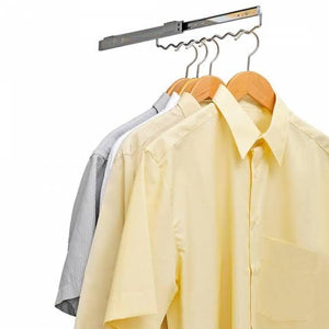 Wardrobe Pull Out Shirt Hanger