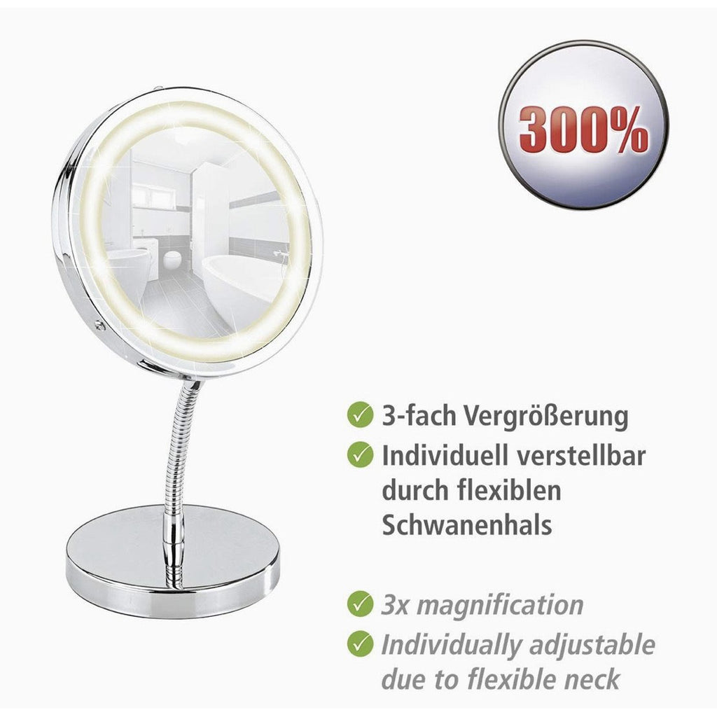 LED Standing Cosmetic Mirror Brolo