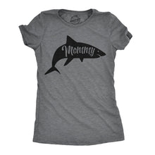 Load image into Gallery viewer, Mommy Shark Women's Tshirt