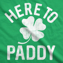 Load image into Gallery viewer, Here To Paddy Men's Tshirt