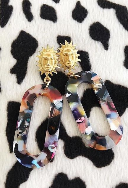 Solaris Earrings - Rainbow
