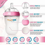 Baby Bottles & Nipples - 2pk/250ml