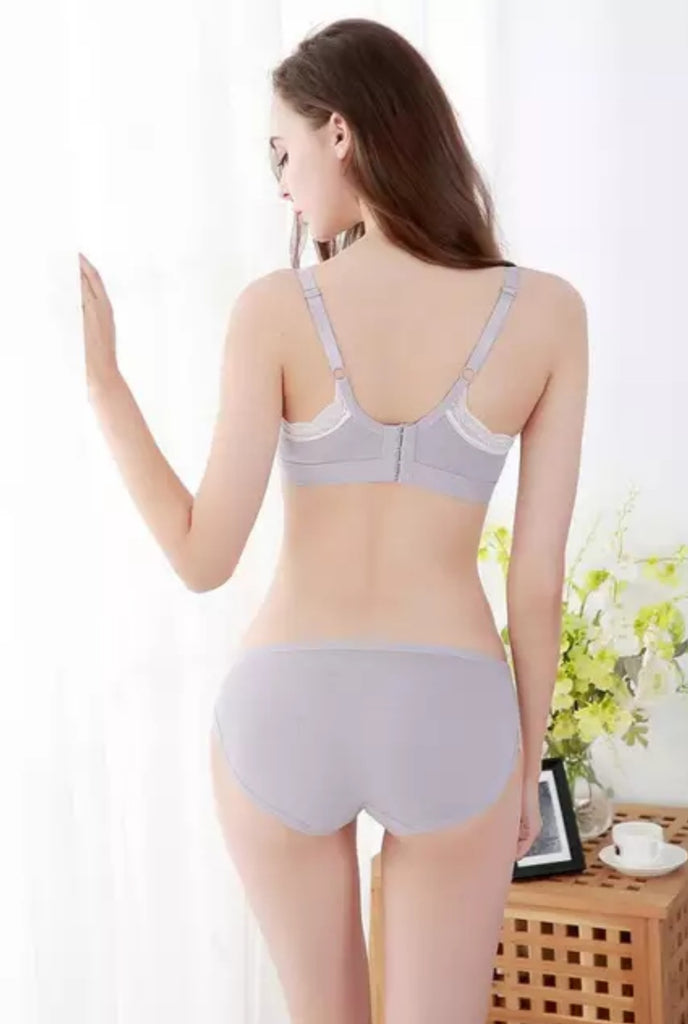Full Cotton light Padded Nursing Bra