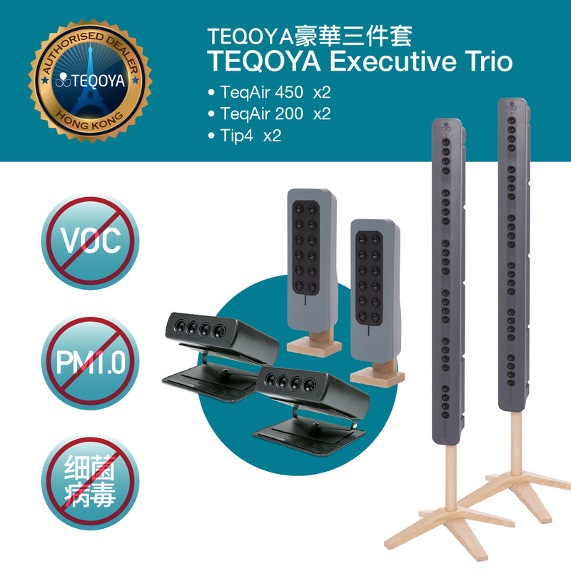 TEQOYA Executive TRIO Bundle