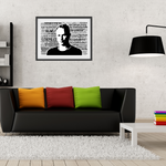 Load image into Gallery viewer, Sting / The Police - Word Art Portrait - Unique Keepsake/Collectable/Memorabilia/Gift/Typography/Print