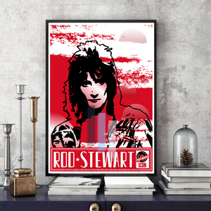 Rod Stewart - Pop Art - Collectable/Memorabilia/Gift/Print