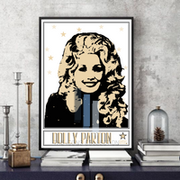 Dolly Parton / Country music legend - Pop Art - Collectable/Memorabilia/Gift/Print