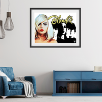 Blondie v3 / New wave / Pop icons - Collectable/Memorabilia/Gift/Print - Pop Art
