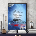 Load image into Gallery viewer, Jean-Luc Picard Star Trek Next Generation - Word Art Portrait