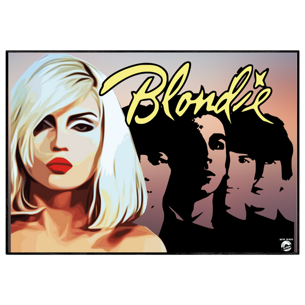 Blondie v2 / New wave / Pop icons - Collectable/Memorabilia/Gift/Print - Pop Art