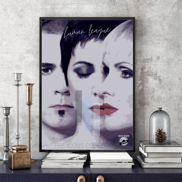 The Human League / New wave icons - Collectable/Memorabilia/Gift/Print - Pop Art