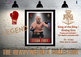 "Tyson Fury 3 ""The Gypsy King"" - King of the Ring - Heavyweight Icon / Boxing Icon - Poster / Print"
