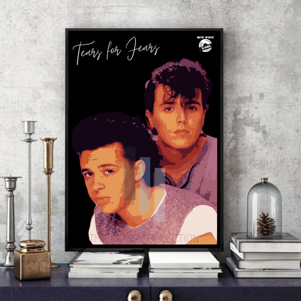 Tears for Fears / New wave icons - Collectable/Memorabilia/Gift/Print - Pop Art