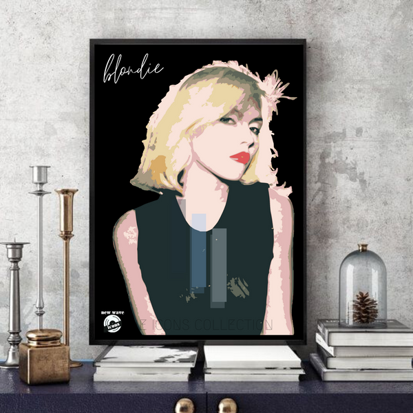 Blondie / New wave / Rock icons - Collectable/Memorabilia/Gift/Print - Pop Art