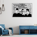 The Jam tribute / Typography - Collectable/Memorabilia/Gift/Print - Pop Art