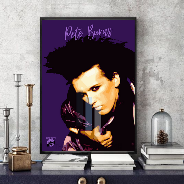 Pete Burns - Dead or Alive / New wave icon - Collectable/Memorabilia/Gift/Print - Pop Art