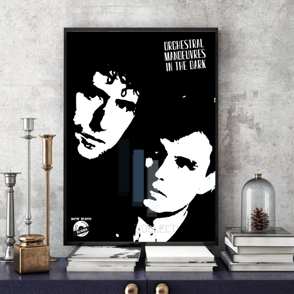 OMD / Orchestral Manoeuvres in the dark- Collectable/Memorabilia/Gift/Print - Pop Art