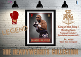"Evander ""The Real Deal"" Holyfield -King of the Ring-Heavyweight Boxing Icon - Poster/Print"