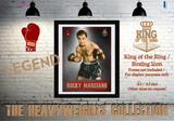 Rocky Marciano - King of the Ring - Heavyweight Icon / Boxing Icon - Poster / Print