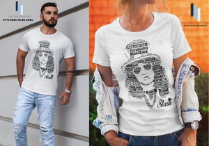 Slash / Guns n' Roses Tribute - Premium T Shirt (100% Supersoft Cotton) Cool Concert Tees