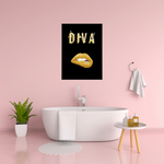 Load image into Gallery viewer, Diva (3.0)  -  Typographic Wall Art