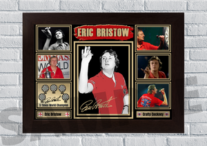 Eric Bristow The crafty cockney (Darts) #83 - Signed print