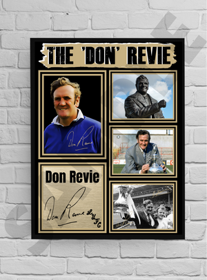 The 'Don' Revie (LUFC) #26 - Signed print
