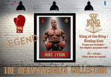 Iron Mike Tyson - King of the Ring - Heavyweight Legend / Boxing Icon - Poster / Print