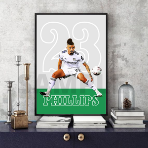 Kalvin Phillips - Leeds United print