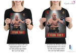 "Load image into Gallery viewer, Tyson Fury 3 ""The Gypsy King"" - King of the Ring - Heavyweight Icon / Boxing Icon - Poster / Print"