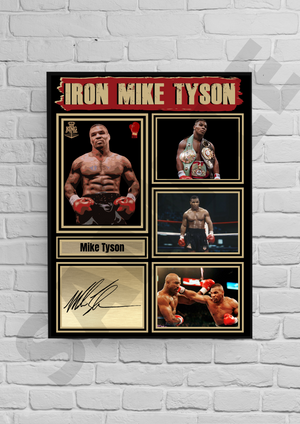 'Iron' Mike Tyson (Boxing) #54 - Signed print
