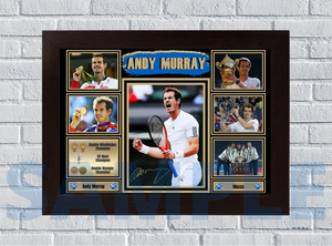Andy Murray (Tennis) #86 - Signed print