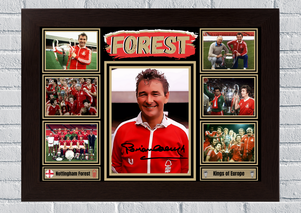 Nottingham Forest Kings of Europe #105 - Signed print