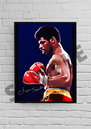 Leon Spinks 2 (Boxing) #65 - Signed print
