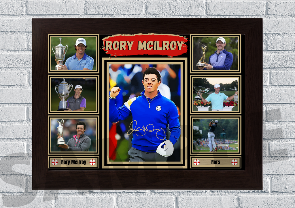 Rory Mcilroy (Golf) #91 - Signed print