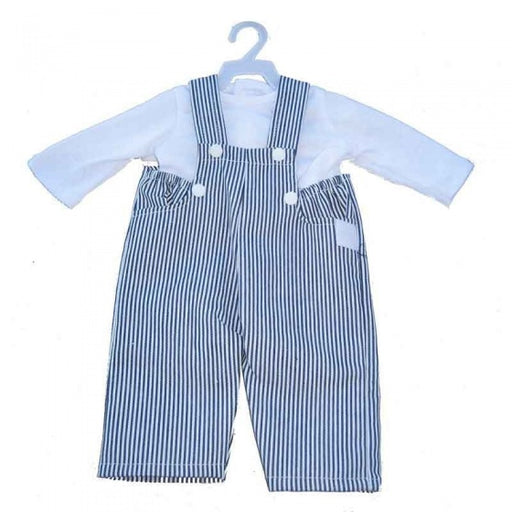 Overall met blouse mini mommy wit 33-37 cm
