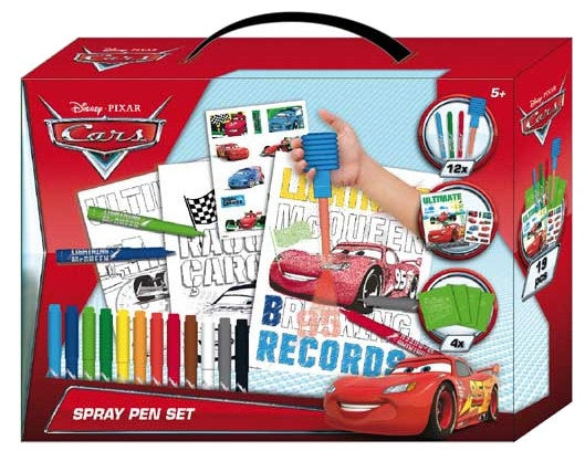 Cars spray pen set 19-delig