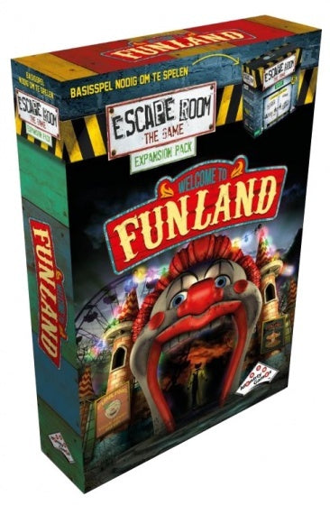 Escape Room Welcome to Funland uitbreidingsset