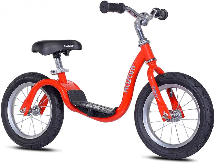 NEO v2s Balance Bike loopfiets 12 Inch Junior Rood