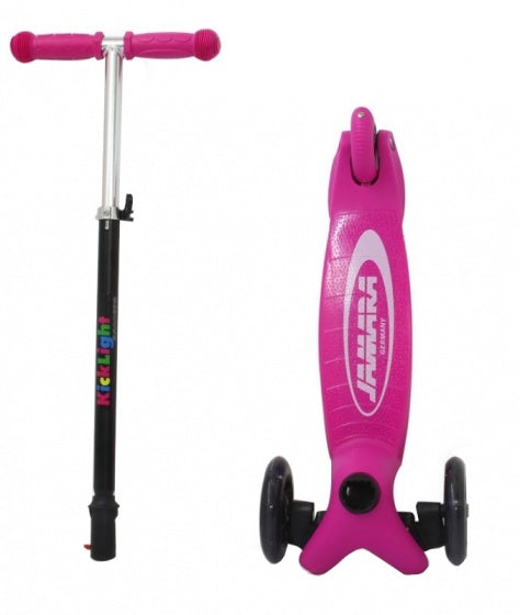 Scooter Junior Voetrem Roze