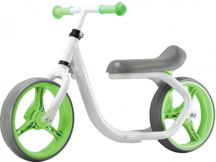 Max Speed loopfiets 10 Inch Junior Wit/Groen